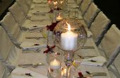 Comment faire pour mettre vers le haut une réception de mariage en 5 étapes faciles