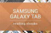 Comment lire IBooks avec Samsung Galaxy Tab