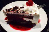 Gâteau Tiramisu glace cerise