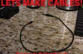 Câbles audio : 3,5 mm à 1.4 Inch & 1/4 de pouce ou XLR, XLR 3, 5 mm