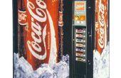 Comment voler soda canettes anciens distributeurs automatiques