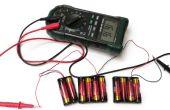 Les valeurs personnalisées de batterie
