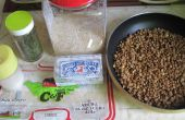 RECETTE riz et lentilles PILAF