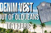 Comment faire le gilet Denim Jeans d'anciens clips vidéo étape par étape
