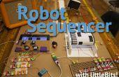 Lecteur de musique robotique et séquenceur avec LittleBits AKA Fruityloops IRL