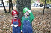 Costumes de Mario Bros avec effets sonores
