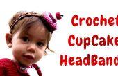 Crochet bandeau Cupcake