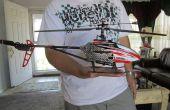 Monture de caméra RC hélicoptère