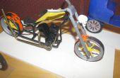 Comment à la conception et créer une échelle moto modèle