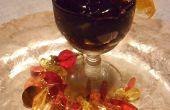 Chaud Dessert vin tasses