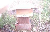 Une ruche d'abeilles d'urgence