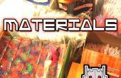 STRAWBOTS : Matériaux