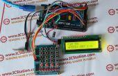 Le système de contrôle de vitesse du moteur sans fil NRF24L01 avec Arduino