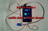Comment recharger un téléphone portable sans chargeur