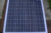 Réparation de verre panneau solaire