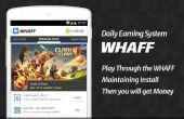 Comment faire pour obtenir gratuitement Gem en Clash du Clan à l'aide de Whaff récompense