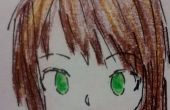 Simple Face Anime