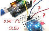 """La première utilisation de 0,96"""" I2C écran OLED avec Arduino UNO"""