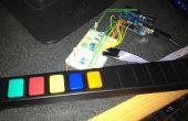 Utilisation Guitar Hero touches/boutons avec votre Arduino