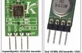 Le phare à radio 433 MHz UHF modèle perdu