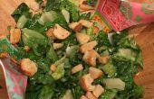 Comment faire une salade César maison