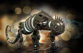 Robot métal Dinobot lourd pour l'impression 3D