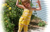 Transformer un T à manches longues en vêtements de jeu pour enfants