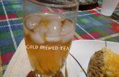 Infusion froide de thé glacé