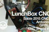 Sable 2015 CNC + Arduino + début = LunchBox CNC