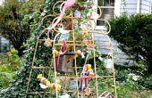 BRICOLAGE oiseau alimentation Station de Vintage