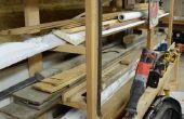 Chariot de bricolage de matériaux