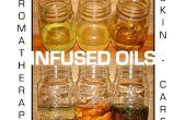 Huiles infusées pour aromathérapie & Skincare