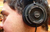 Fixer un fil dénudé sur vos écouteurs