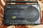 Attachant un Line-In à un vieux Philips Radio Cassette Recorder - (numéro de modèle DR193)