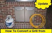 Comment faire pour convertir une grille de Propane à gaz naturel (Update)