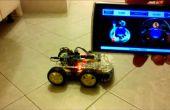 Arduino 4WD rover bluetooth contrôlée par téléphone/tablette Android