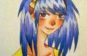Comment pour dessiner et couleur An Anime Headshot