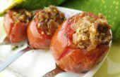 Farcis de tomates au micro-ondes