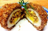 Sur le dessus, Triple Bacon farcis Scotch Egg