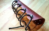 Tir à l'arc en cuir Bracelets