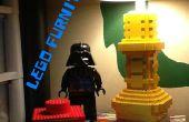 LEGO lampe, tiroir, Coaster et dessus de Table de travail.