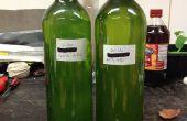 Gin à partir de zéro (vapeur infusée)