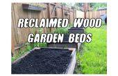 Porté des lits de jardin (et plus!) de bois récupéré