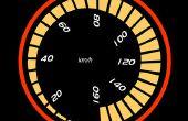 LED indicateur de vitesse