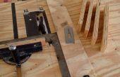 Plan lit en bois