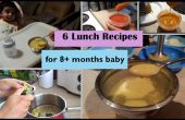 6 déjeuner recettes pour 8 + mois bébé | Etape 3 - recettes de cuisine bébé maison