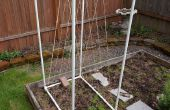 Treillis de jardin PVC