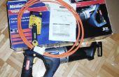 Modding une scie sans fil pour fonctionner sur 12 volts