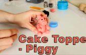 Comment faire un sucre pâte Fondant porc Cake Topper