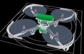 3D imprimé Quadcopter